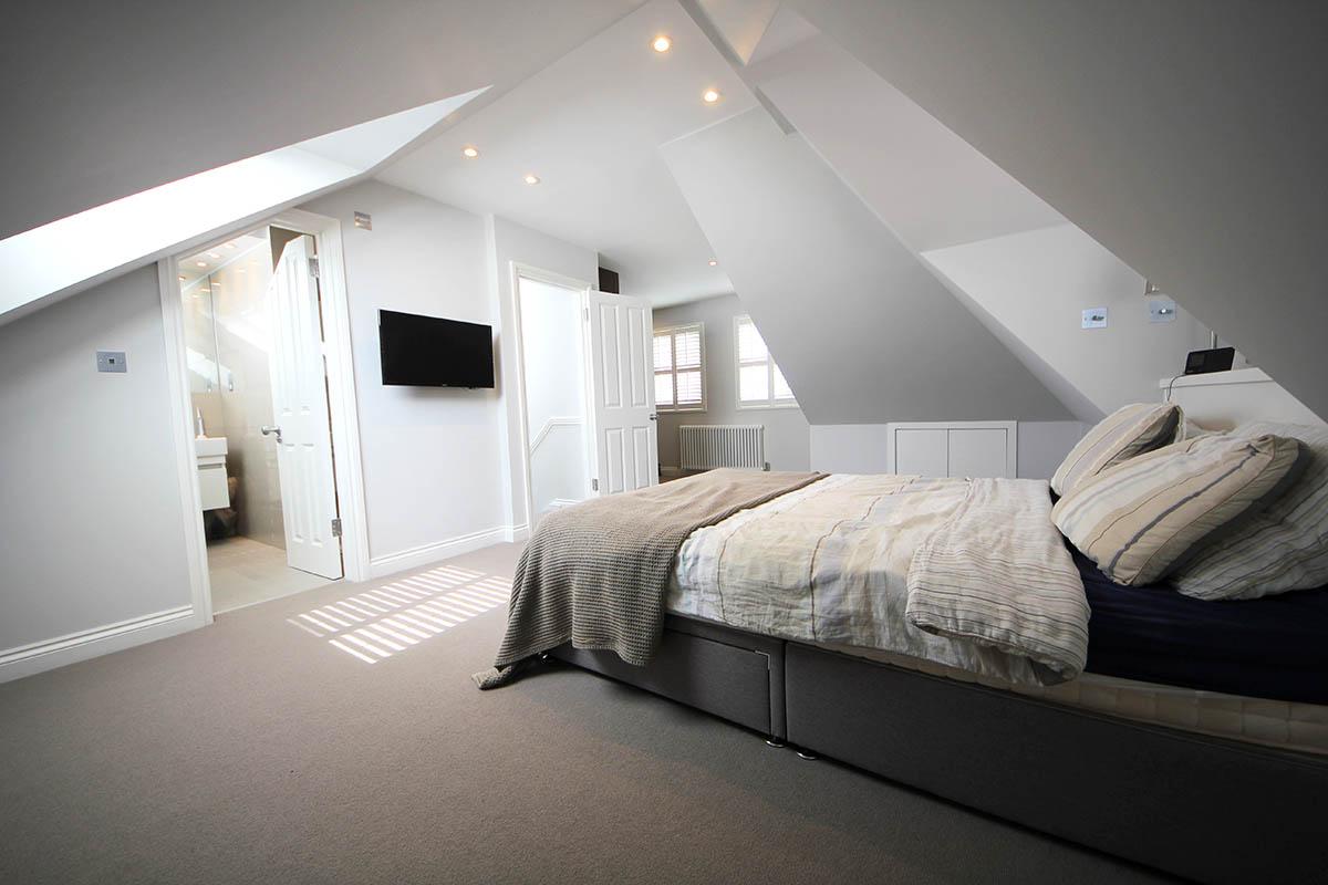 Attic Bedroom Arrangement
